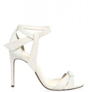 Alexandre Birman Clarita Leather Ankle-Strap Sandals