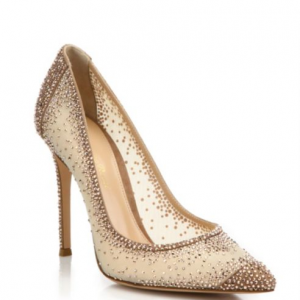 Gianvito Rossi Crystal-Embellished Pump