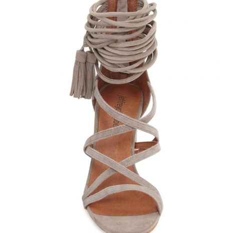 JEFFREY CAMPBELL 'Despina' Strappy Sandal front