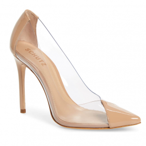 Cendi Transparent Pump by Schutz