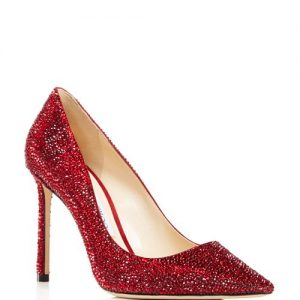 Romy 100 Swarovski Crystal Pumps