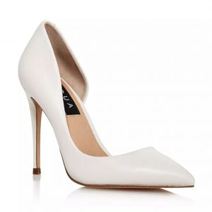AQUA Dion Half d'Orsay High-Heel Pumps