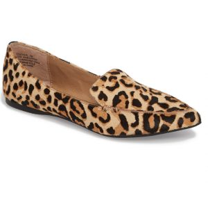 Genuine Calf Hair Loafer Flat by Steve Madden