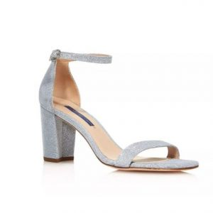Stuart Weitzman Nearly Nude Block Heel Sandals