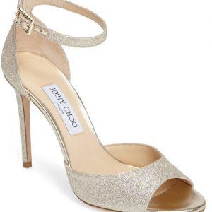 Annie Ankle Strap Sandal   JIMMY CHOO