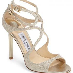 Lang Glitter Sandal JIMMY CHOO
