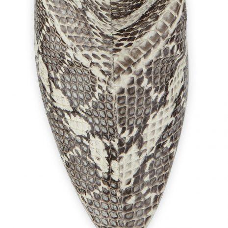 Manolo Blahnik Rosie Block-Heel Snakeskin Booties 4