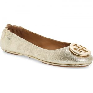 'Minnie' Travel Ballet Flat TORY BURCH