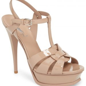 Tribute T-Strap Platform Sandal SAINT LAURENT