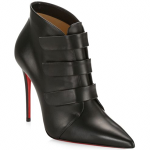 Christian Louboutin Trini Leather Ankle Boots