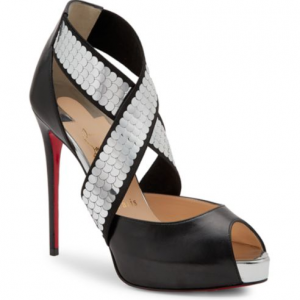 Christian Louboutin Xiletta Disco Ball Red Sole Sandals