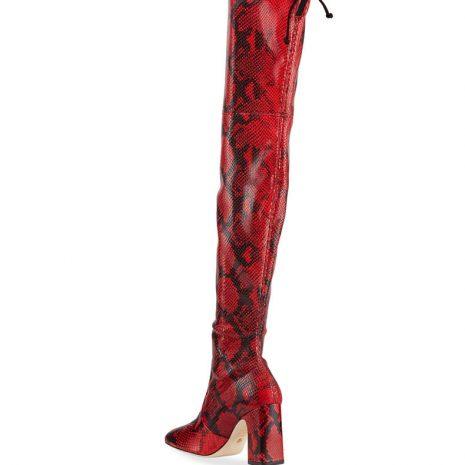 Stuart Weitzman Kirstie Snake Over-The-Knee Boots2
