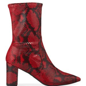 Stuart Weitzman Landry 75 Micro Stretch Sock Booties