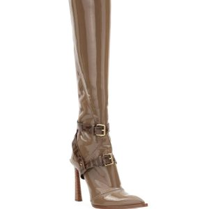 Fendi Neoprene To-The-Knee Boots