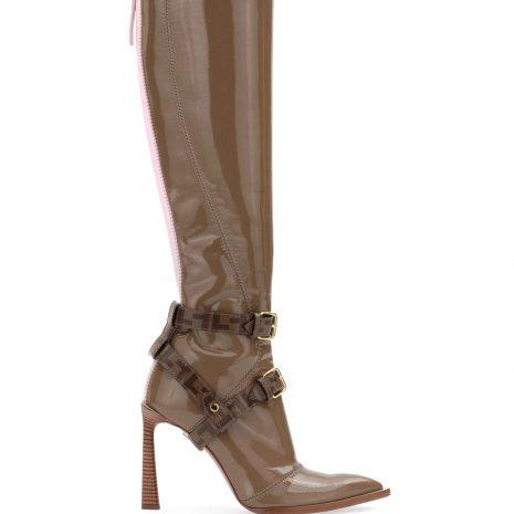 Fendi Neoprene To-THE-Knee Boot3