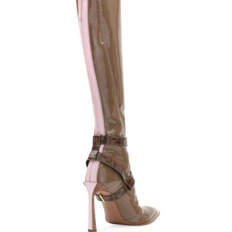 Fendi Neoprene To-THE-Knee Boot4